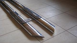 Arc thresholds OVAL B2 RenaultTrafic, VW T5, Vito, VW Caddy