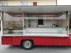 Auto Fiat Ducato c showcase refrigerator