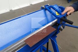 Bending machine Bartech and other roofing tool