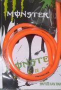Бензошланг 4мм оранжевый (силикон) 1 метр