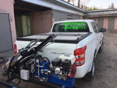 Body cover Fiat of Fulbeck, L200. Tuning Fiat Fullback, L200