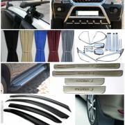 Car tuning, roof rack, protection, tow bar, roof rails
