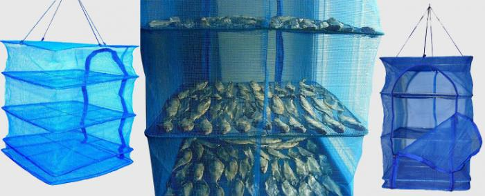 Металлическая сушилка для рыбы своими руками