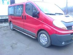 Дуги, пороги Oval, Trafic, T5, Vito, Caddy, Berlingo, rav 4