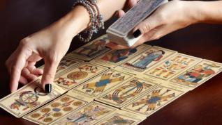 Гадание на картах, по линие руки, предсказание будущего, прошлог