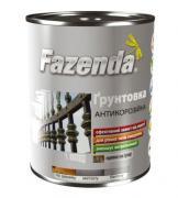 Грунт ГФ-021 ФАЗЕНДА антикоррозийная серая 2,8 кг (2000000107820