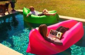Inflatable lounger Lezhak - Light chaise Lasik, Bevan