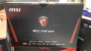 Компания MSI GT80 Титан сли