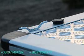 Крышка кузова для пикапа. Трёхсекционная складная крышка кузова
