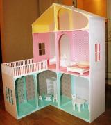 Кукольный домик из дерева эксклюзивного дизайна