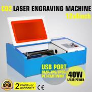 Laser engraver CO2 engraving machine 40W., 50 watts., 60 In
