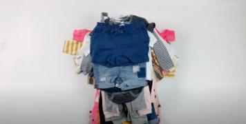 Лот 01-0637, Детский микс, бейбикы H & M, вес 5 кг