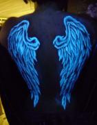 Люминесцентная краска Нокстон для аквгрима и боди - арта
