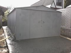 Металлический гараж стальной 2,0 мм