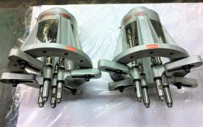 Multi-spindle drilling-milling-boring heads