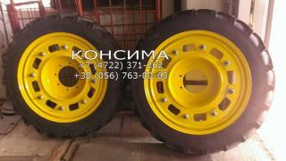 Narrow spacing wheels
