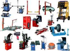 Оборудование для автосервіса и шиномонтажа