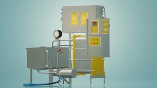 Пастеризатор молока проточний 3 т / ч УЗМ-3,0Р