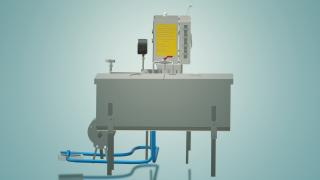Пастеризатор молока проточний на 300 л УЗМ-0,3