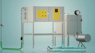 Пастеризатор молока ємнісний на 100 л УЗМ-0,1Е