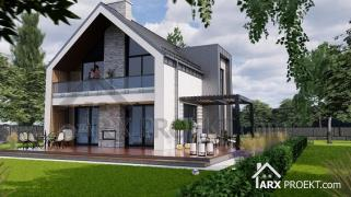 Projects of houses, cottages. Individual design