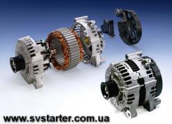 Ремонт генераторів та стартерів