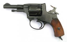 Револьвер Наган Гром Командирский ( укороченный)