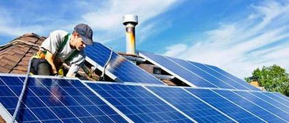Sale and installation of solar power plants for home