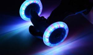 Самокат трехколесный Мини со светящимися колесами