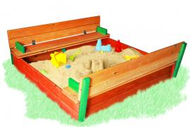 Sandbox with lid color 200х200см