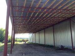 Sell hangars, warehouses, sheds and other structures from