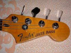 Selling Bass guitar, Fender 60's JAZZ BASS RW BLACK (Made in Mexico