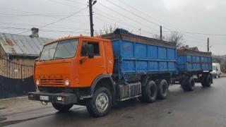 Selling KAMAZ with pripom