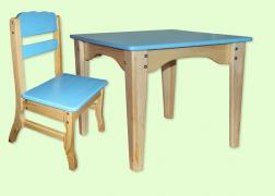 Set of furniture for children combined - table+chair