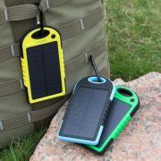 Солнечная батарея панель зарядное устройство двойное USB 5000 мА
