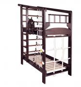 "Sports bunk bed ""Captain 2"" tinted"