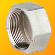 Stainless steel plug with internal thread DN 15 (1/2) AISI 304