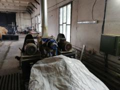 The equipment for manufacture of briquettes from agricultural and woody