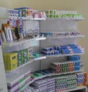 Торговые стеллажи, торговое оборудование для аптек