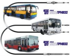 Троси управління :кпп, тнвд, гст, зчеплення, газу, для автобусів