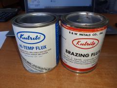 """Universal flux """"Kutrite"""" Brazing Flux (USA) for soldering"""
