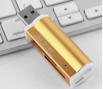 USB картридер для ноутбука и ПК USB2.0 Micro SD TF MMC SDHC MS M