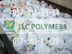 We buy waste polymers: bottle, jerrican, HDPE, different Col