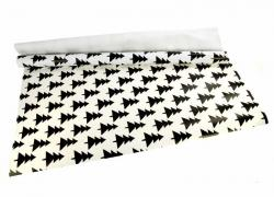Wrapping paper (0,7*5 m), white-black